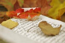 Autumn words