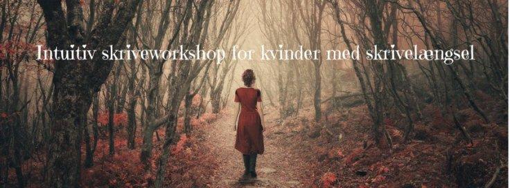 Intuitiv skriveworkshop for kvinder med skrivelængsel
