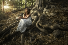woman-forest