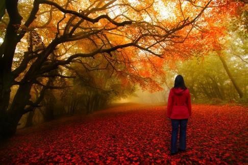 woman_autumn