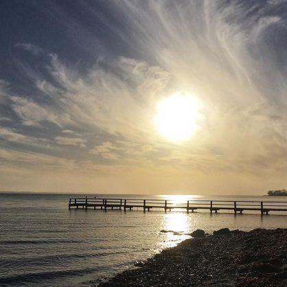 Sol over hav_januar