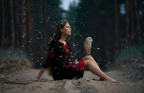 Owl and Girl