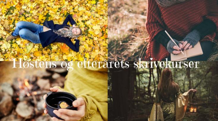 Høsten og efterårets skrivekurser