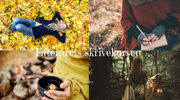 Efterårets skrivekurser
