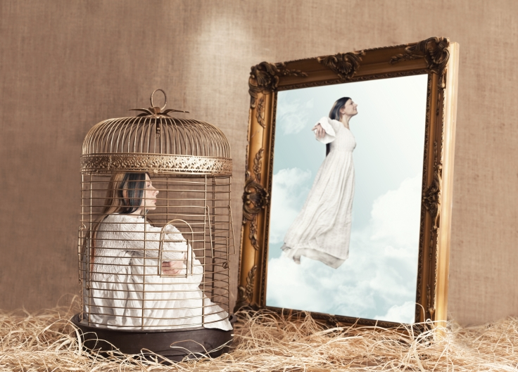 Woman cage