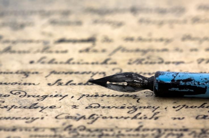 Old pen og paper