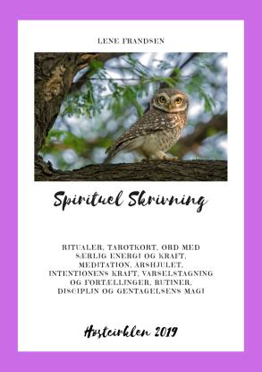 Forside Spirituel Skrivning Høstcirklen 2019