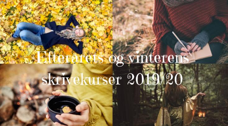 Efterårets og vinterens skrivekurser