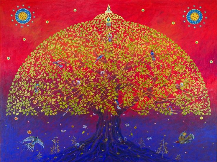 The Bodhi Tree.