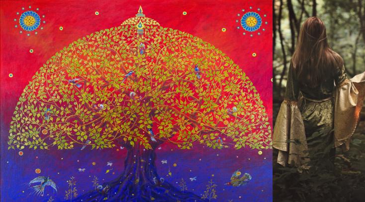 Fortællersken og Bodhi træet