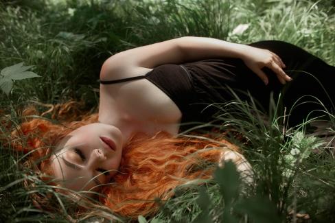 I græsset på tærsklen